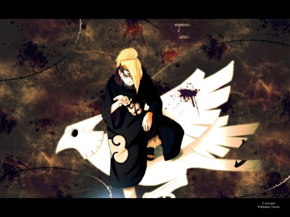 deidara-on-clay-bird