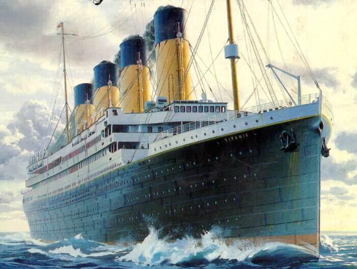 Titanic - Dessin du titanic ...