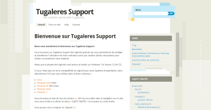Tugaleres-Support