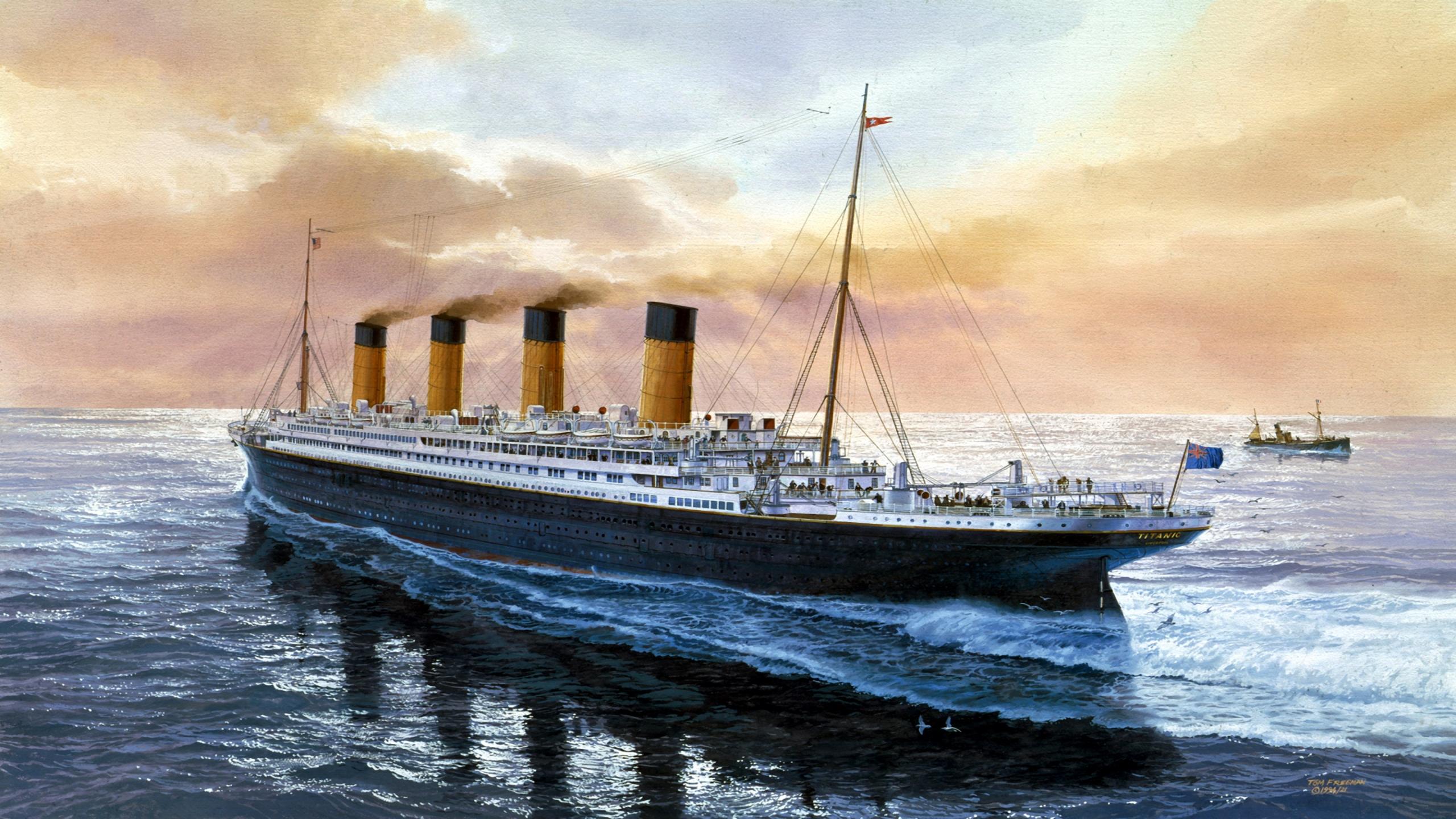 Titanic page 5 - Titanic dessin ...