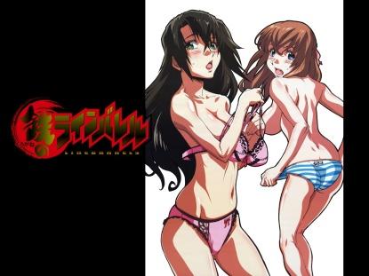 Konachan.com - 43691 kizaki_emi kujyou_miu kurogane_no_linebarrels underwear