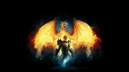 Devinity 2, воин, дракон, dragon, 1920x1080