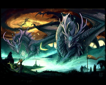 Dragon-with-Witch-dragons-24182977-1280-1024