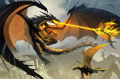 dragon_and_warriors_fantasy_wallpaper-other