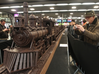 Belgium Chocolate Train