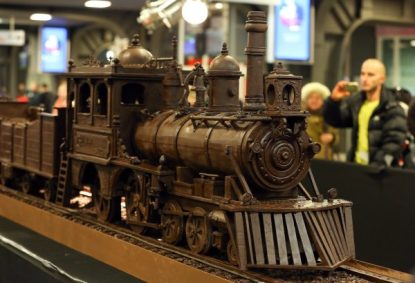 Chocolate train Guinness world record