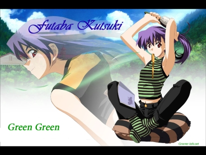 Green Green - Futaba Kutsuki (1024 x 768)
