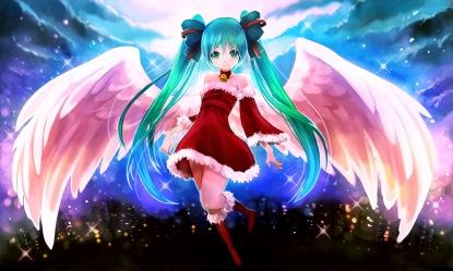 Christmas - Miku (1600 x 960)