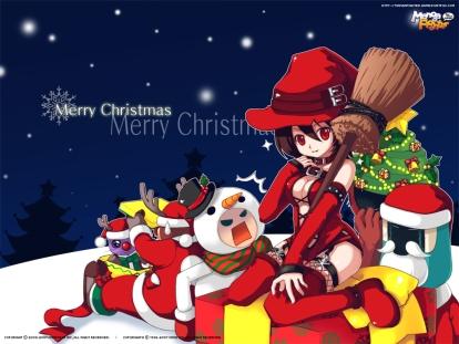 Christmas - Manga Fighter (1024 x 768)