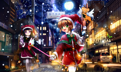 Christmas time in the city by jonadrian619 (1280 x 768)
