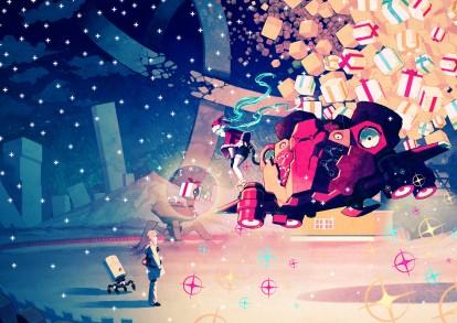 Vocaloid - Miku Hatsune - Christmas (3508 x 2480)