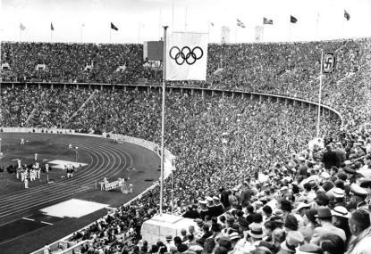 Berlin, Olympische Spiele im Olympiastadion