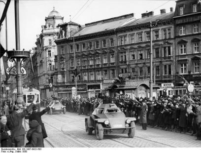 Wien, Einmarsch deutscher Truppen, Spähpanzer