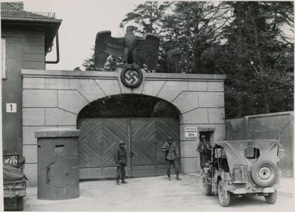 KZDachau1945-entrée principale