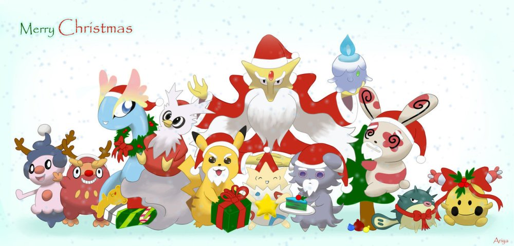pokemon_christmas_by_afifariya-d6yidcf