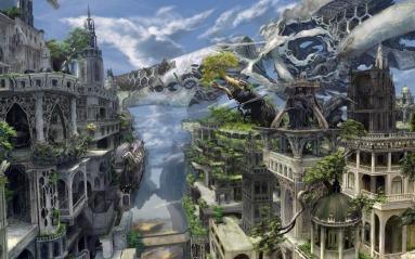 Source : https://suwalls.com/fantasy/overgrown-white-city-31521/