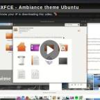 Le thème Ambiance sur XFCE en vidéo !