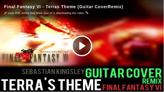 4 Final Fantasy VI Terras Theme (Guitar CoverRemix)