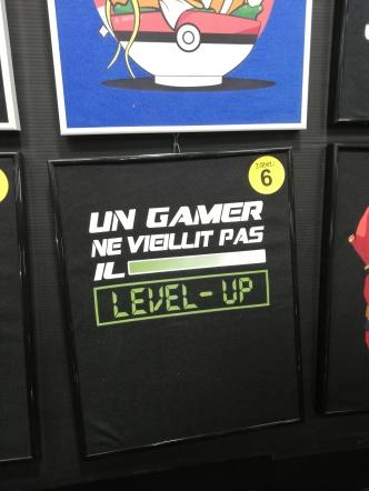Stand de T-Shirts