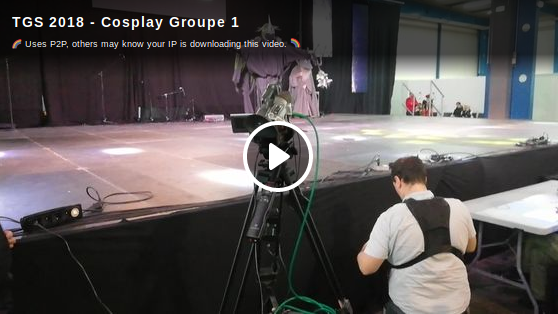 TGS 2018 - Cosplay groupe 1