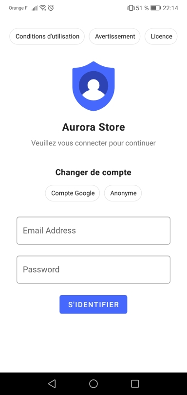 Aurora-connexion