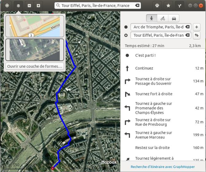 GNOME-Maps-vue-aerienne