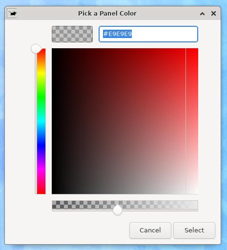 Changer la couleur du dock 2