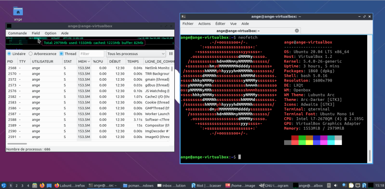 Lubuntu-conso-ressources