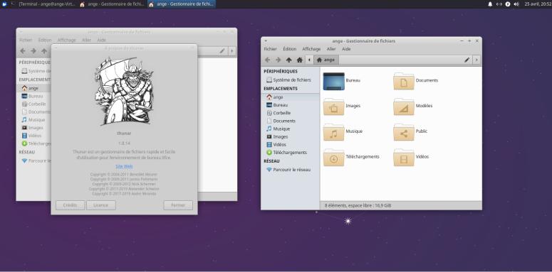 Xubuntu-gestionnaire-de-fichiers