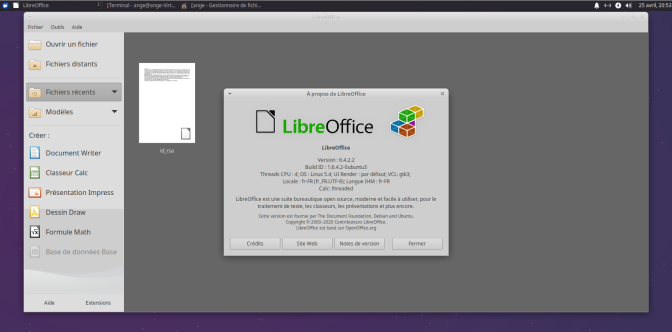 Xubuntu-LibreOffice