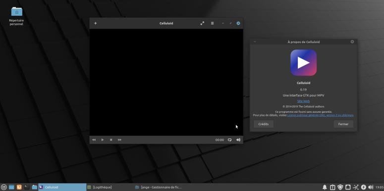 LinuxMint20-Celluloid