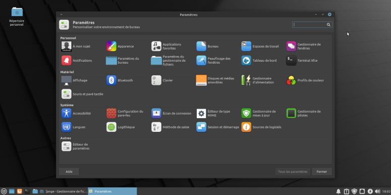 LinuxMint20-Settings