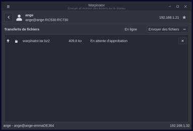 Warpinator-envoi2