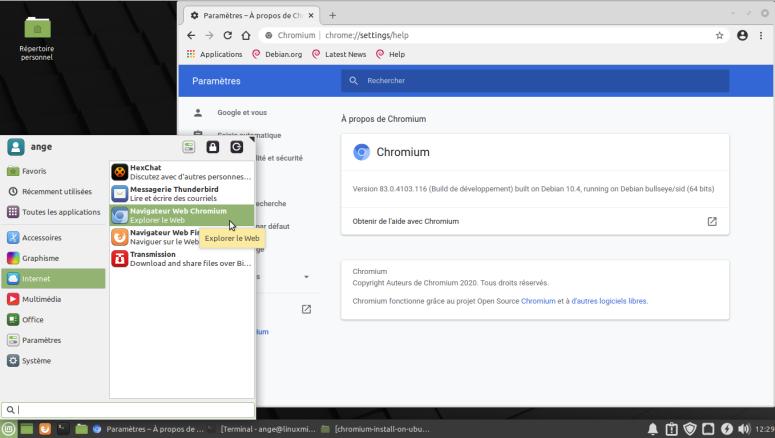 Mint-Chromium-from-Debian